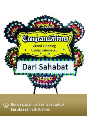 Papan Congratulation Jakarta 01