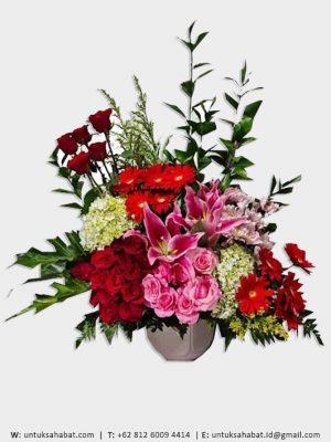 Bunga Meja Medan 01