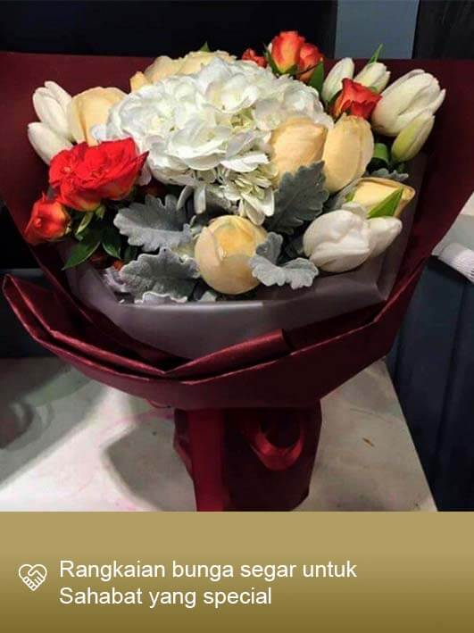 Hand Bouquet Surabaya 02