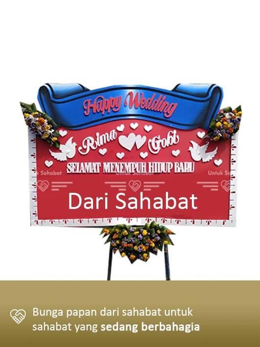 Papan Wedding Surabaya 03