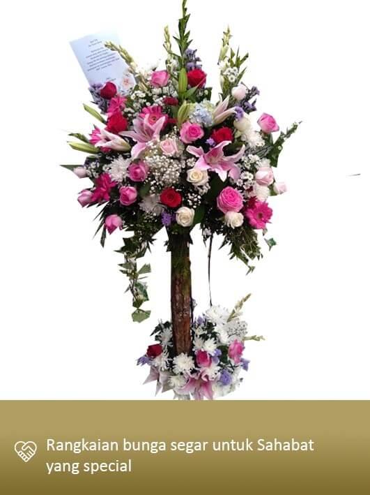 Standing Flower Medan 01