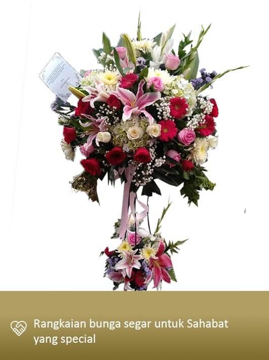 Standing Flower Medan 04