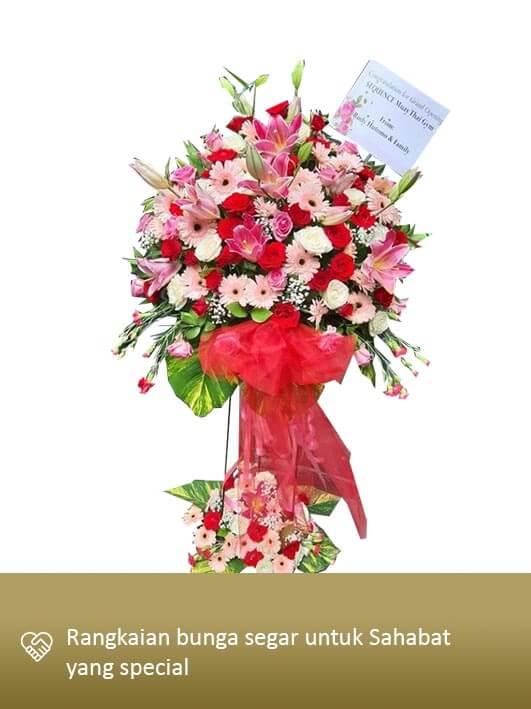 Standing Flower Medan 05