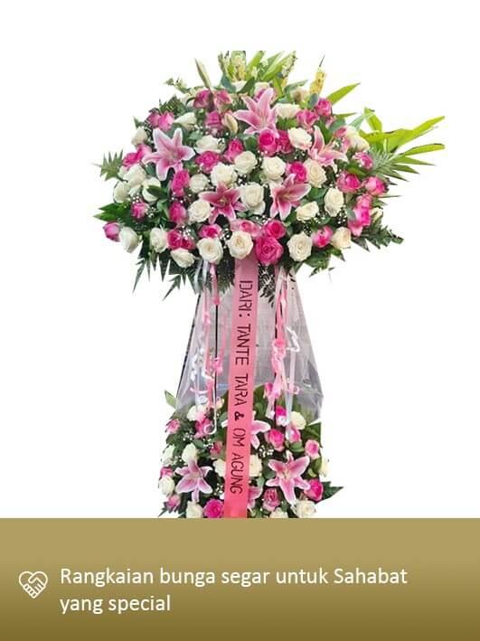 Standing Flower Medan 07