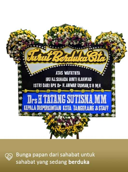 Karangan Bunga Dukacita Tangerang 07