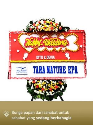 Karangan Bunga Wedding 04
