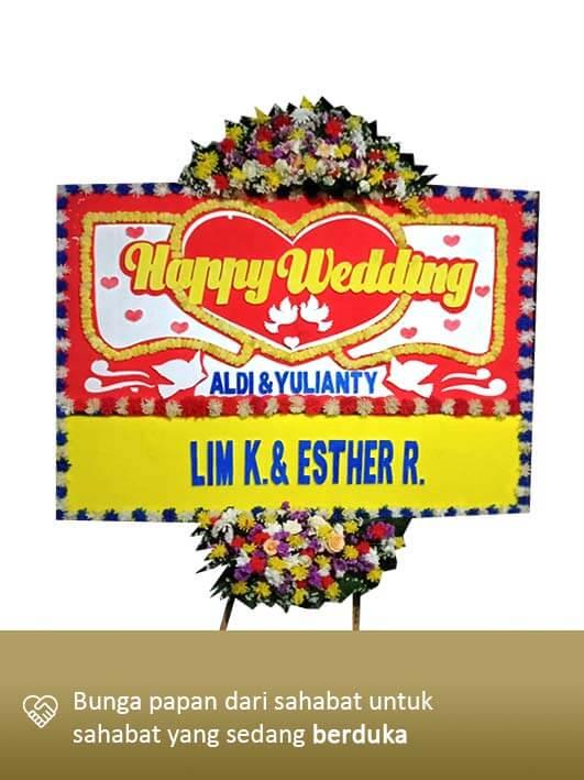Karangan Bunga Wedding 06