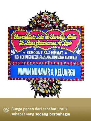 Karangan Bunga Wedding Bandung 02