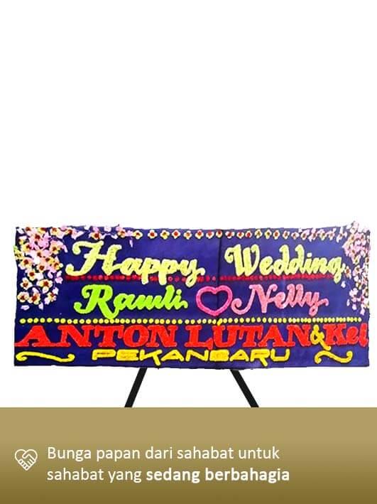 Karangan Bunga Wedding Medan 01