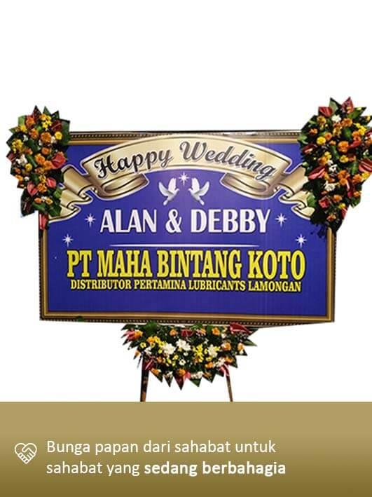 Karangan Bunga Wedding Surabaya 03