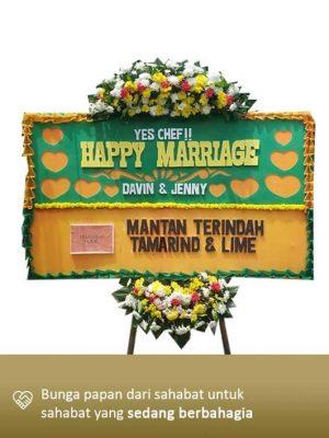 Karangan Bunga Wedding Tangerang 01