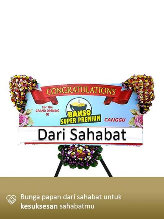 Papan Congratulation Denpasar Bali 02