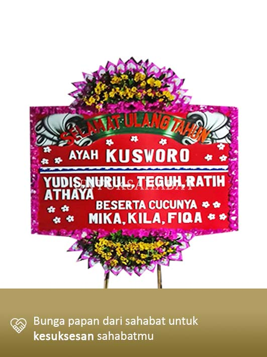 Karangan Bunga Congratulation Solo 02