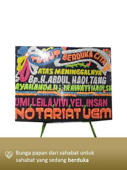 Karangan Bunga Dukacita Makassar 01