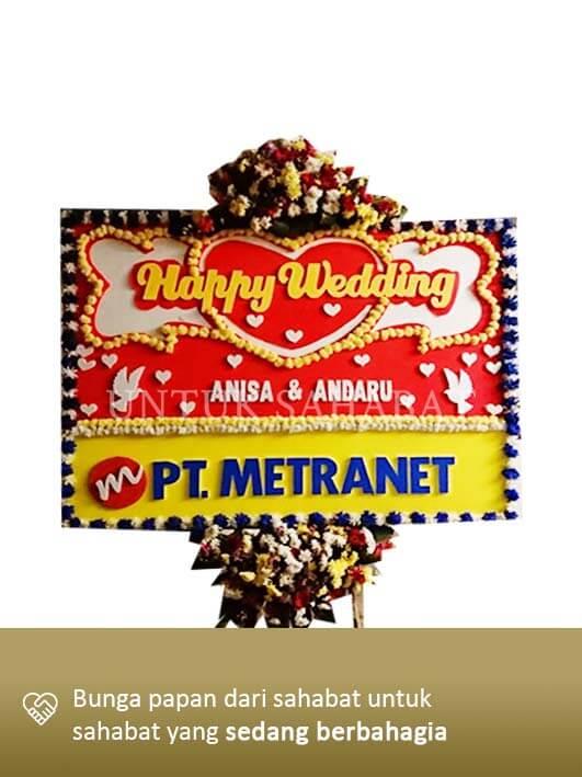 Karangan Bunga Wedding Bandung 06