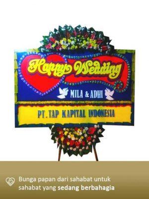 Karangan Bunga Wedding Bekasi 01