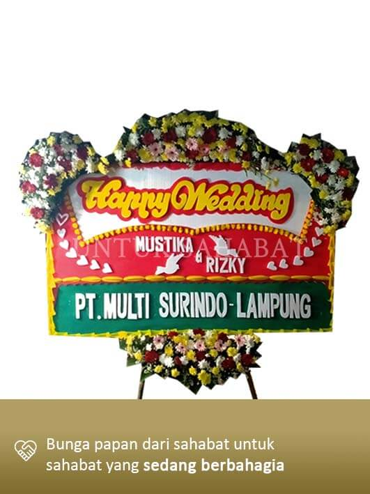 Karangan Bunga Wedding Bekasi 03
