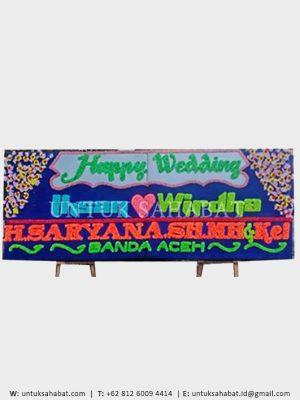 Karangan Bunga Wedding Medan 05