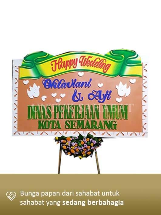 Karangan Bunga Wedding Surabaya 06