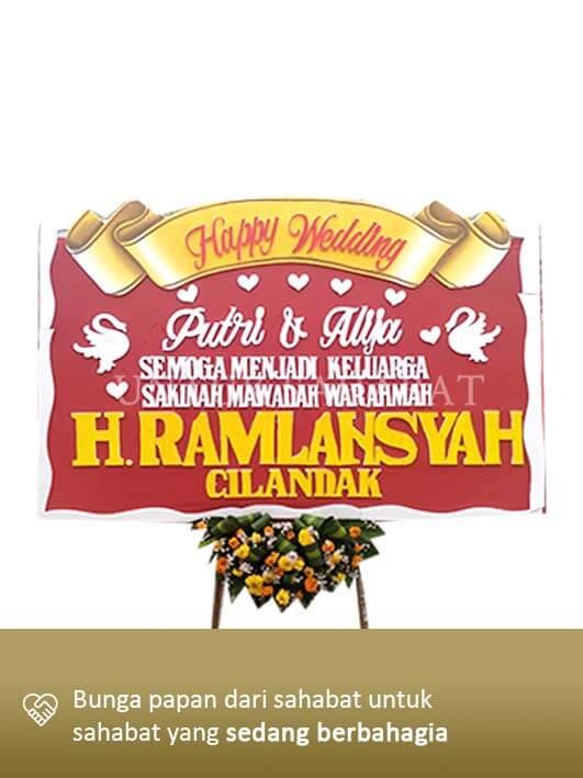 Karangan Bunga Wedding Surabaya 08