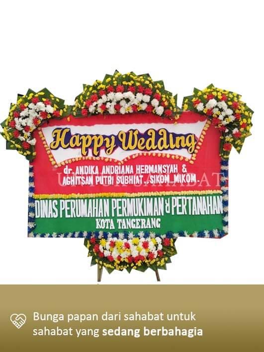 Karangan Bunga Wedding Tangerang 03
