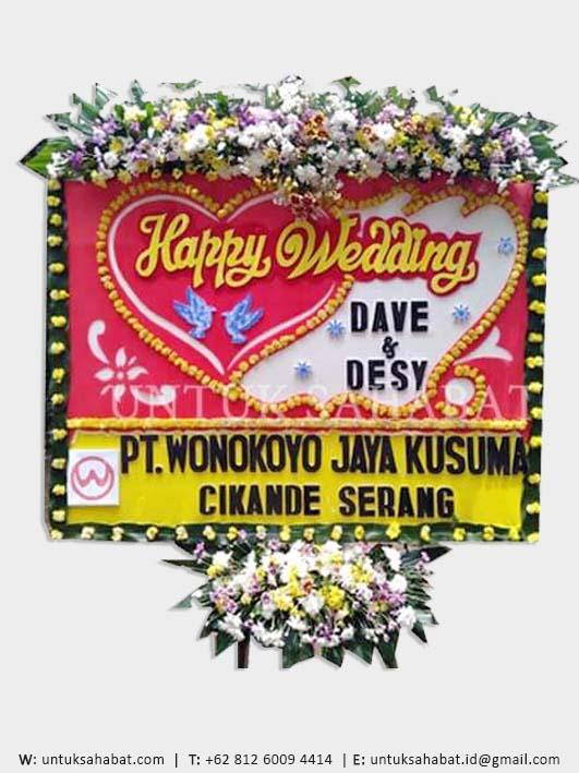 Karangan Bunga Wedding Tangerang 04