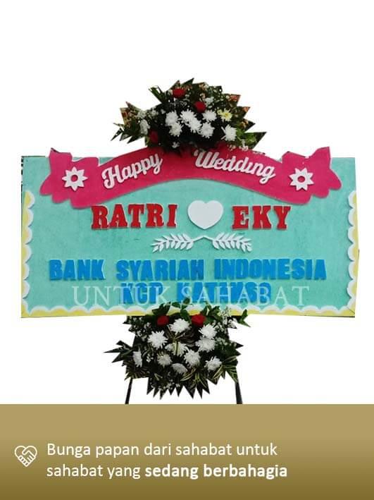 Karangan Bunga Wedding Yogyakarta 01