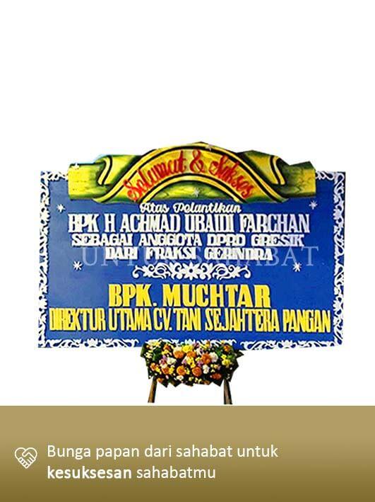 Karangan Congratulation Gresik 02
