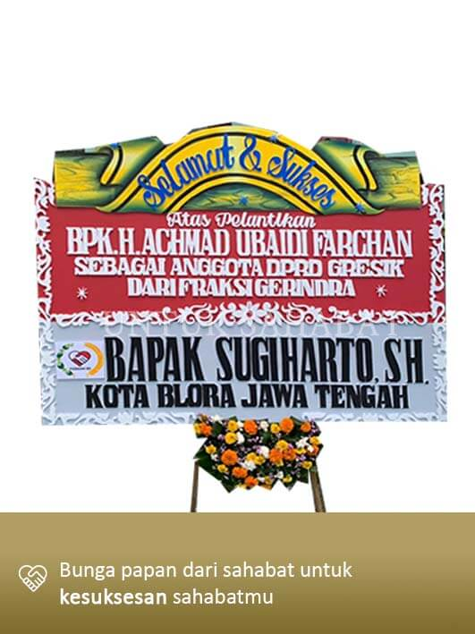 Karangan Congratulation Gresik 06