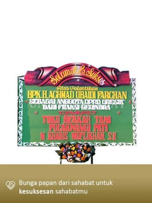 Karangan Congratulation Gresik 09