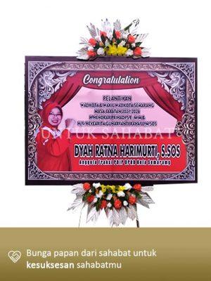 Papan Congratulation Semarang 21