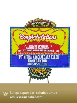 Karangan Bunga Congratulation Jakarta 04
