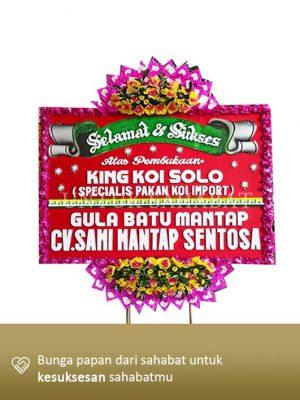 Karangan Bunga Congratulation Solo 03