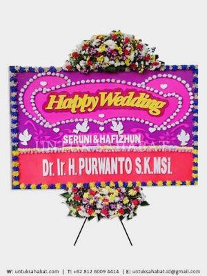Karangan Bunga Wedding Bandung 05