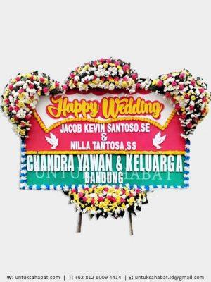 Karangan Bunga Wedding Bogor 01