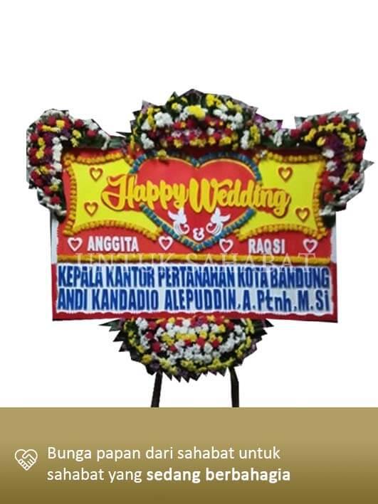 Karangan Bunga Wedding Bogor 02