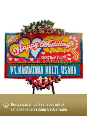 Karangan Bunga Wedding Bogor 03