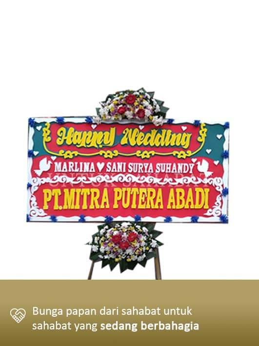 Karangan Bunga Wedding Cirebon 01