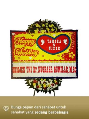 Karangan Bunga Wedding Depok 01
