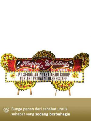 Karangan Bunga Wedding Jakarta 01