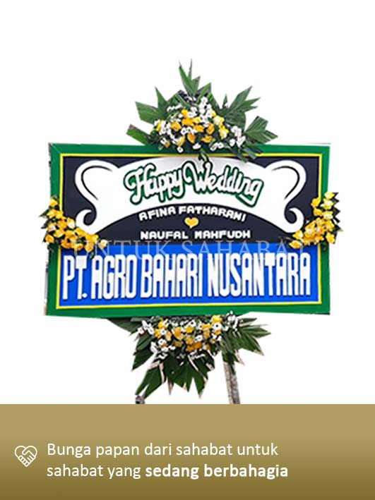 Karangan Bunga Wedding Magelang 01