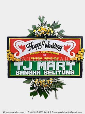 Karangan Bunga Wedding Magelang 02