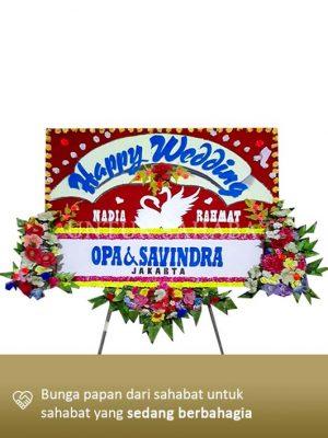 Karangan Bunga Wedding Pekanbaru 01