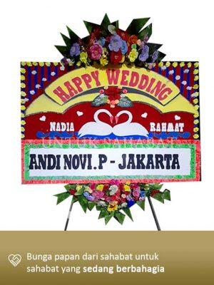 Karangan Bunga Wedding Pekanbaru 02