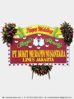 Karangan Bunga Wedding Surabaya 02