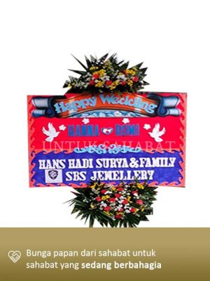 Karangan Bunga Wedding Yogyakarta 02