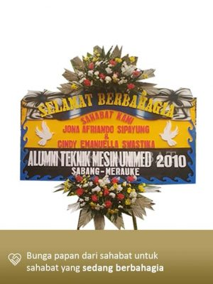 Karangan Bunga Wedding Yogyakarta 03