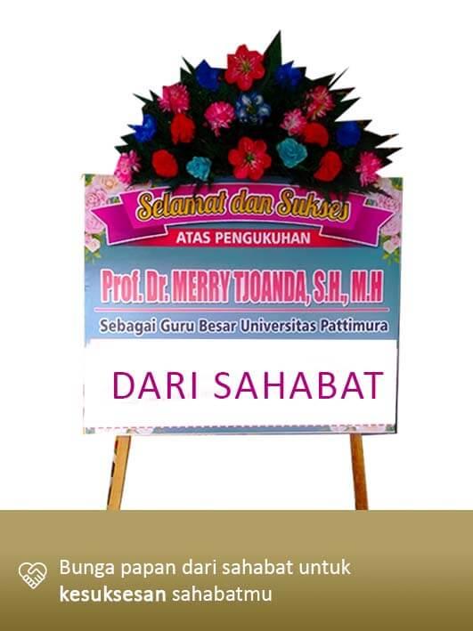 Papan Bunga Congratulation Ambon 01