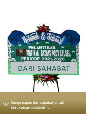 Papan Bunga Congratulation Banjarmasin 01