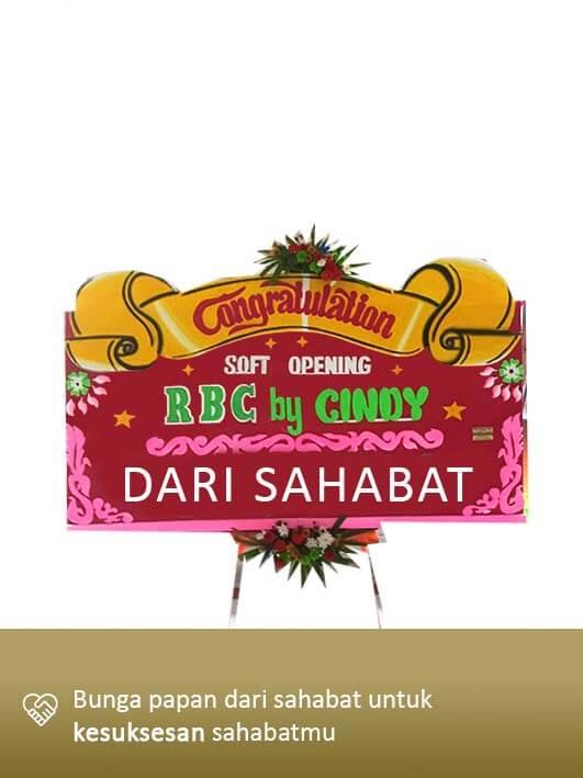 Papan Bunga Congratulation Banjarmasin 02